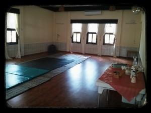 חדר הרמוניה במועדון בכפר יהושע